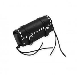 Bolsa de cuero para arco del respaldo con tachuelas