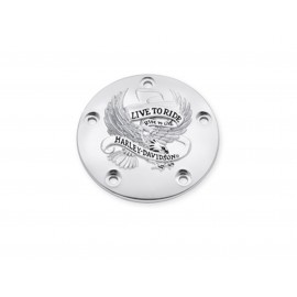 """IGNITION COVER THE HARLEY-DAVIDSON """"LIVE TO RIDE"""" COLLECTION - CHROME"""