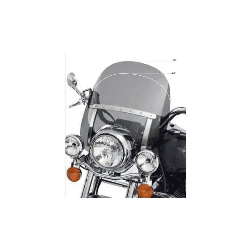 Deflector detachable para Road King