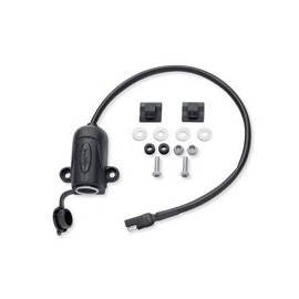 Auxiliary Power Port – Saddlebag Mount