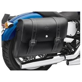 H-D® Detachables™ Locking Leather Saddlebags