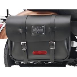 """""""Express Rider"""" Large Capacity Leather Saddlebags"""
