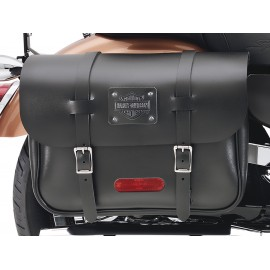 """Express Rider"" Large Capacity Leather Saddlebags"