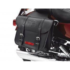 Leather Throw-Over Saddlebags