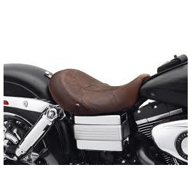 BROWN LEATHER SEAT, DYNA