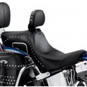 Asiento Signatures Series con respaldo para piloto - Diseño con tachuelas