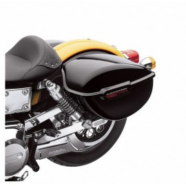 Alforjas rígidas a juego con el color de la moto