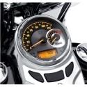 """Velocímetro y tacómetro analógico 5"""" - cuadrante de aluminio centrifugado"""