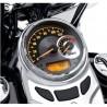 """Velocímetro y tacómetro analógico 5"""" - cuadrante de aluminio centrifugado, km/h."""