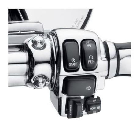 Carcasas de interruptores cromadas