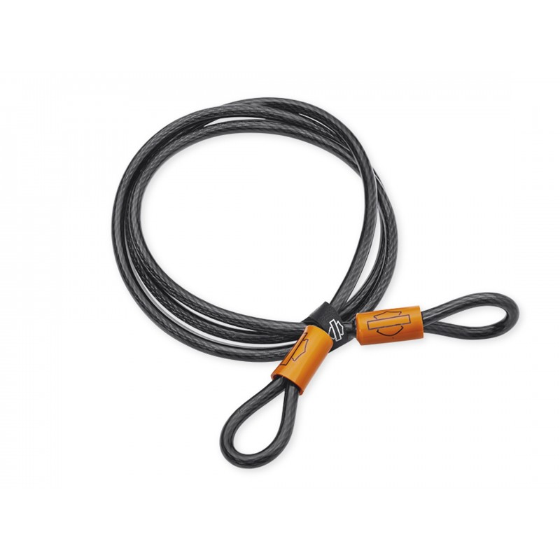 Cable de seguridad con doble bucle