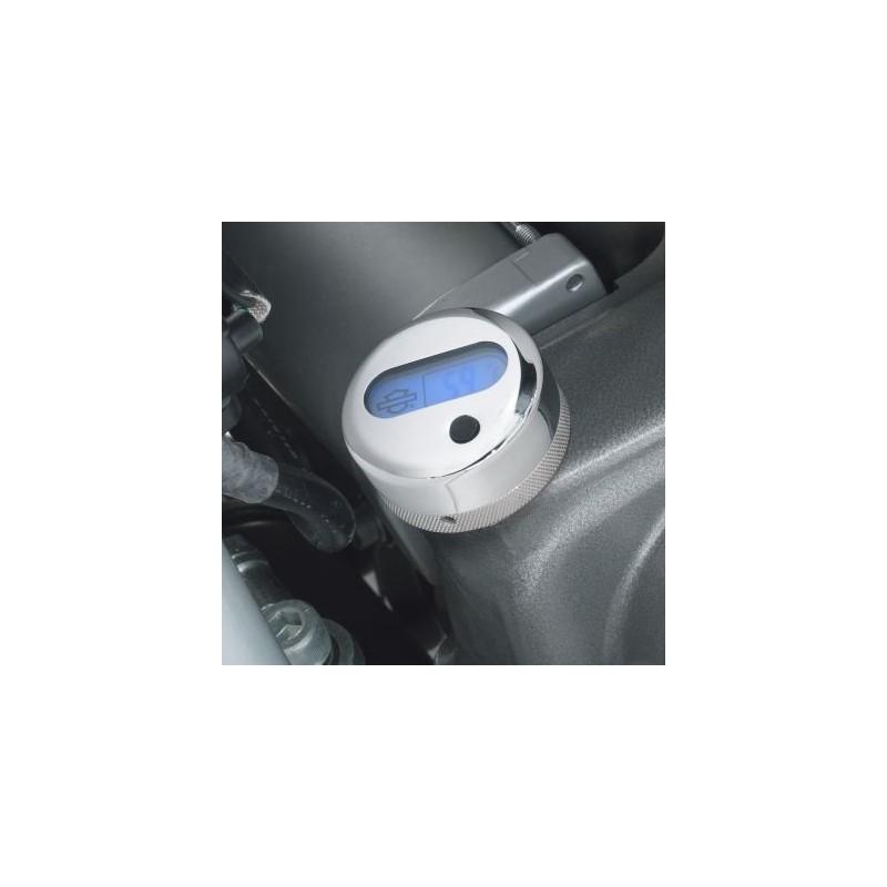 Varilla de nivel de aceite con medición de la temperatura con lector Lcd con iluminación