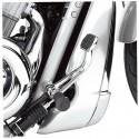 Slotted Rear Brake Lever - Chrome
