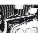 """Tapa del varillaje del cambio - con la leyenda """"Harley-Davidson"""""""