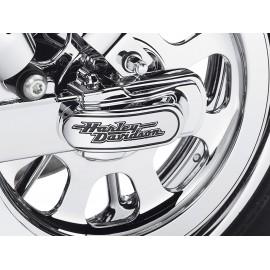 "Kit de la tapa del eje trasero con la leyenda ""Harley Davidson"""