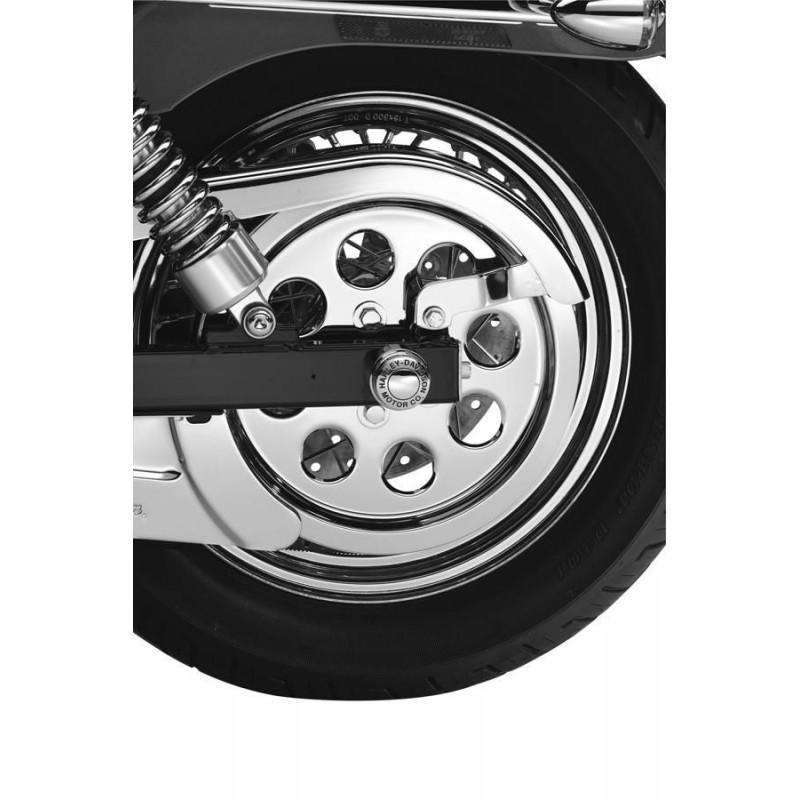 Tapa del piñon con orificios - Cromada