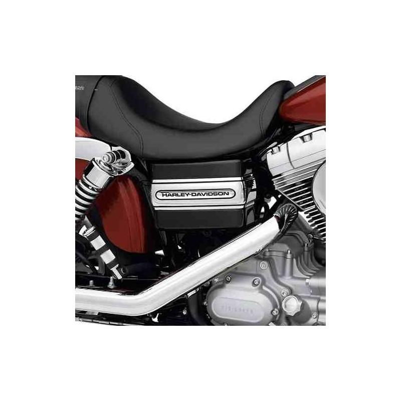 "Banda de la tapa de la bateria - Inscripcion ""Harley-Davidson"""