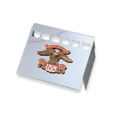 Tapas cromadas de la bateria - USA Eagle