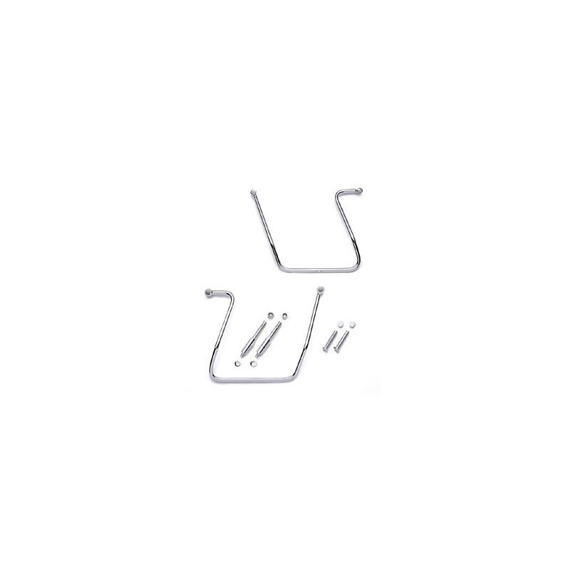 Soportes para alforjas - Cromados