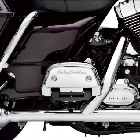 """Tapas para las estriberas del acompañante con la leyenda """"Harley-Davidson"""""""