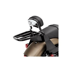 Full Detachable Backrest '04-later XL (Short/Black)