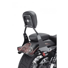 Full Detachable Backrest '04-later XL (Small/Black)