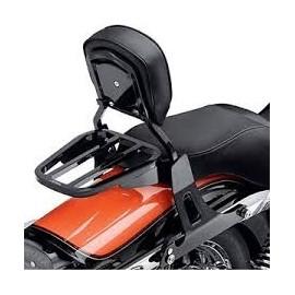 Full Detachable Backrest '04-later XL (Small/Black)