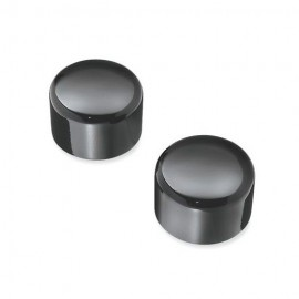 Front Axle Nut Covers - Black