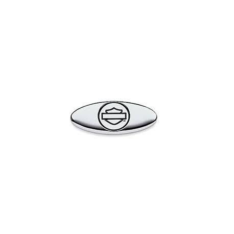 Logotipo Bar&Shield Ovalado - Cromado
