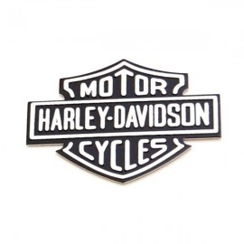 Logotipo Bar&Shield metálico autoadhesivo