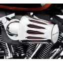 TAPA DEL FILTRO HEAVY BREATHER SCREAMIN' EAGLE® – FORMA DE LÁGRIMA (Cromado – Logotipo final.)