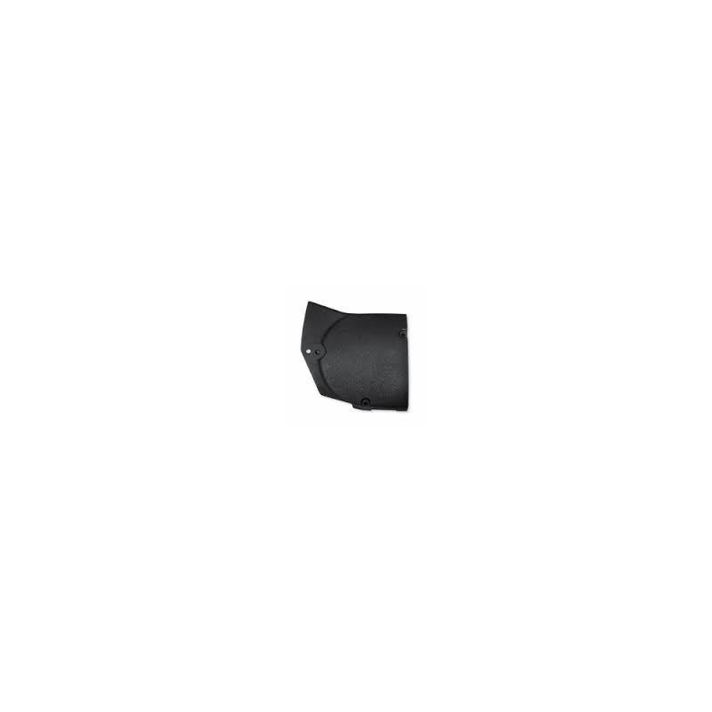 Tapa de los piñones de la transmision negro rugoso