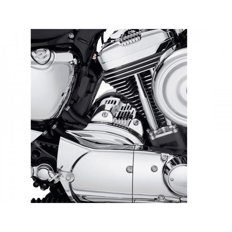 Tapa del motor de arranque cromada