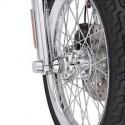 Separadores de la rueda delantera cromados