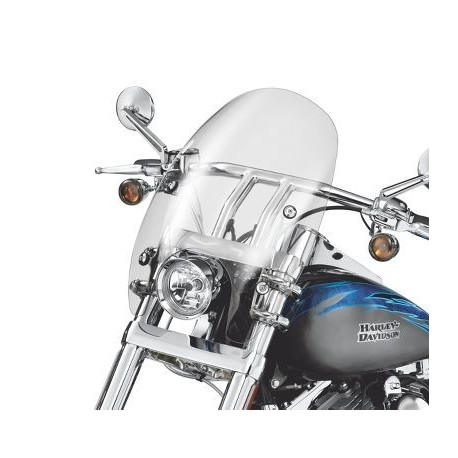 Parabrisas super sport desmontable Softail