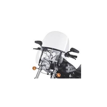 Parabrisas Compacto Detachable Soportes Negros Dyna