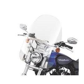 Parabrisas Compacto Detachable Soportes Pulidos Dyna ´06 y posteriores