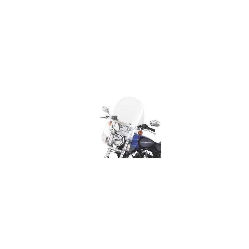 Parabrisas Compacto Detachable Soportes Pulidos Dyna ´06-´14