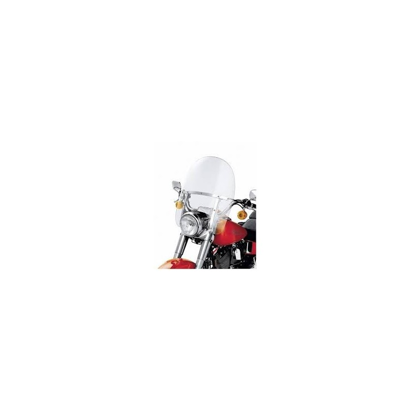 Parabrisas King-Size Detachable FL Softail con alojamiento de faro