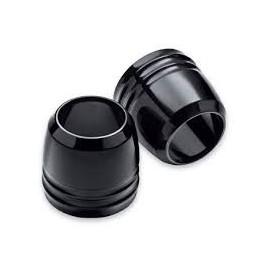 Tapas de guardapolvos de horquilla negras