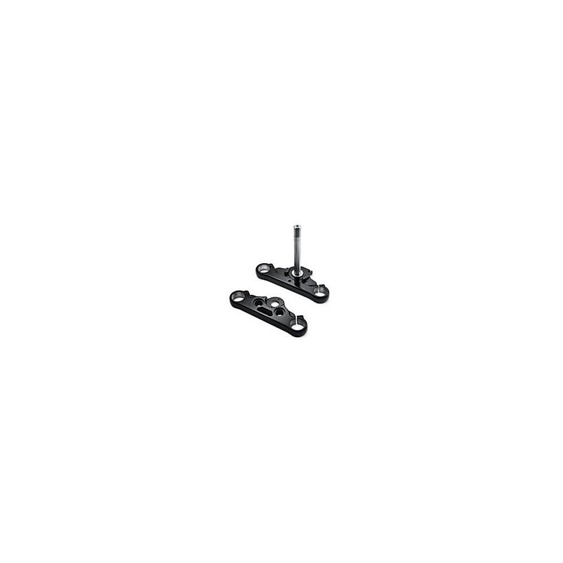 Kit de arbol triple negro brillante