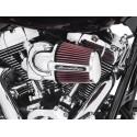 Kit de filtro de aire Screamin´ Eagle Elite Heavy Breather Cromado