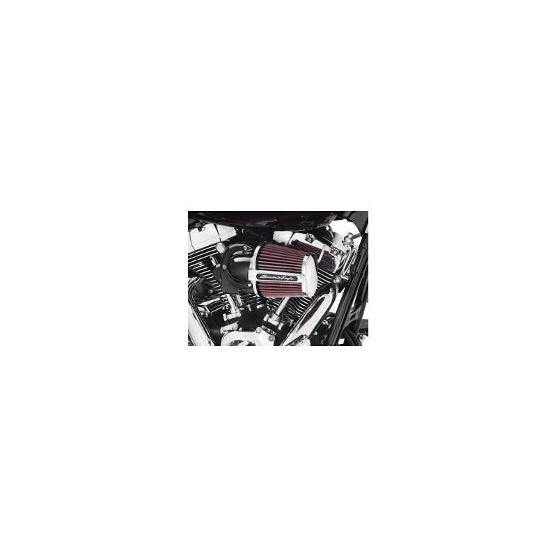 Kit de filtro de aire Elite Heavy Breather Screamin´ Eagle Negro