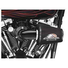 Kit de filtro de aire Screamin´ Eagle Heavy Breather Negro
