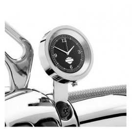 Handlebar Clock - Black/Chrome.