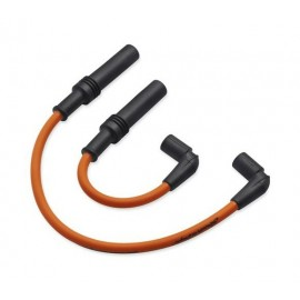 Screamin' Eagle 10mm Phat Spark Plug Wires - Orange
