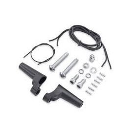 Front Turn Signal Relocation Kit - Black