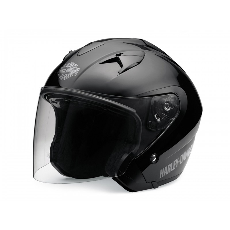 3/4 Helmet with Retractable Sun Shield