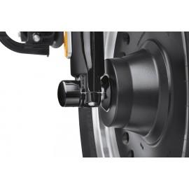 Kit de separador de la rueda delantera ABS - NEGRO