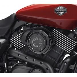 Embellecedor de filtro de aire Harley-Davidson® Motor Co. - Negro